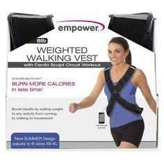 Weight Vest Empower, Black