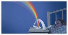 Is anything more enchanting than a rainbow? Not really. Which is why this little device—a rainbow machine—is so ingenious. Uncle Milton's Rainbow in my Room sits on any flat surface in your h…
