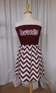 Aggie Game Day Dress - Pruitt's Fabric