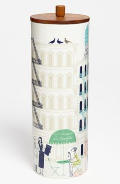 kate spade new york 'hopscotch drive about town' tall canister available at Nordstrom