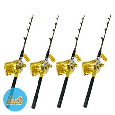 80 Wide 2 Speed Reels on Blue Marlin Tournament Edition Rods Pack) - We are open! – All orders shipped in Business days! 80 Wide 2 Speed Reels on Blue Marlin Tou - Fishing Life, Sea Fishing, Trout Fishing, Kayak Fishing, Fishing Tackle, Ice Fishing Rods, Fishing Reels, Saltwater Lures, Blue Marlin