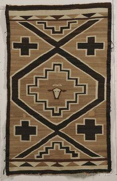 Navajo Textile | Sale Number 2596B, Lot Number 400 | Skinner Auctioneers