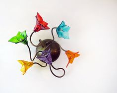 Vintage style ceiling or wall lamp with rainbow by yehudalight, $260.00