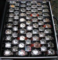 Watches, watches, watches...