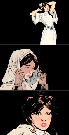 """""""Hope led me to the Rebellion, and Alderaan paid for that, now my hope has led the Empire here. I don't think the galaxy can survive much more hope from me."""" - Princess Leia #starwars"""