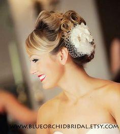 Ivory Wedding Head Piece - Inspring Headwears with Wedding Headwears,Cute Headwears,White Headwears, Love it!