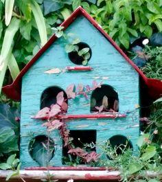 My first bird feeder 2006