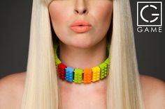 Rainbow Sherbet #lego #jewelry Visit http://www.hergamejewelry.com