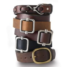 Our Women's Leather Belts are a notch above the rest. Keep your pants up with a women's leather belt from Duluth Trading. Get a long lasting belt that won't ever let you or your pants down.