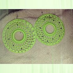 Earrings crochet by Lilly