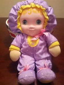 Jammie Pies Doll 1980's by PlaySkool - (Nicole's first doll.)  This will go nicely with your nursery decor.