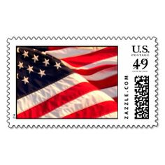 USA Flag Military Wedding Invitation Postage Stamp Stamps. It is really great to make each letter a special delivery! Add a unique touch to invites or cards with your own photos or text. Just click the image to learn more!