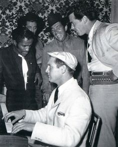 sing-along • sammy davis jr., robert mitchum, dean martin, paul newman and james garner