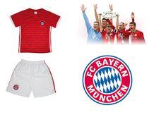 Uniset FC Bayern München Kinder Set Trikot + Hose Sport Fußball 2018
