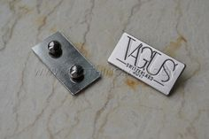 Product No:metal-labels-0464  Email:Vittoria@clothinglabels.cn