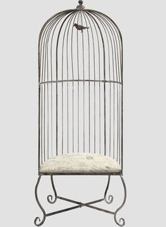Birdcage Shaped Accent Chair
