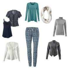 """""""Cabi Grid Skinny Jeans Fall 2015"""" by emily-buxton on Polyvore featuring CAbi"""