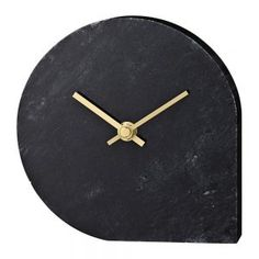The elegant Stilla table clock by AYTM is made of marble with brass pointers. A simple, yet striking design with contemporary material choice. The clock will look beautiful on a bedside table, window still or shelf. Contemporary Clocks, Modern Contemporary, Table Watch, Modern Home Offices, Library Wall, Desk Clock, Wall Clocks, Alessi, Key Design