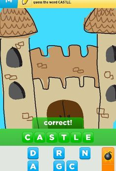 Castle  Draw something app on android