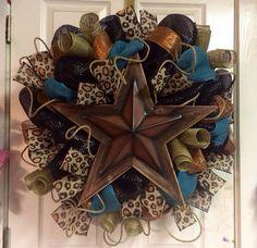 Rustic Star Wreath