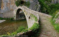 Bridge of Noutsou, Vikos Gorge, Greece