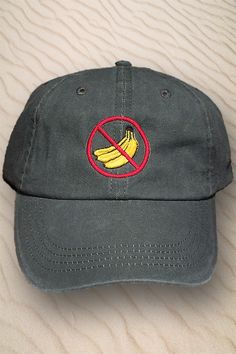 0f8cd0a445d No Bananas fishing hat. Great for keeping a fisherman in the shade and bad  luck