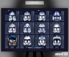 "Clone Wars Discover Star Wars Inspired Battle of Umbara"" Art Print Helmet Study by Herofied Clone Troopers Clone Wars Rex Star Wars Clone Wars, Star Wars Helmet, Clone Trooper Helmet, Lego Star Wars, Star Wars Pictures, Star Wars Images, Star Wars Fan Art, Guerra Dos Clones, Star Wars Zeichnungen"