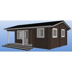 Saunamökki Haukka Shed, Outdoor Structures, Home, Ad Home, Homes, Haus, Barns, Sheds, Houses