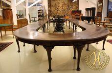 Historismus Konferenztisch - Antik Möbel Hesz
