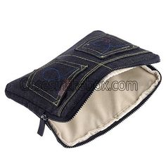 iPad Screen Protector,high quanlity Cool Blue Jean Jeans Sleeve Bag Case for iPad 2