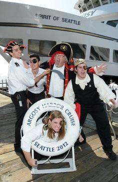 Talk Like a Pirate Day celebrated at Argosy cruises!