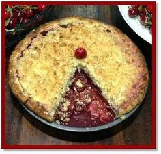Crumble Cherry Pie