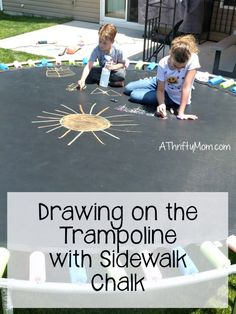 drawing on the tramp