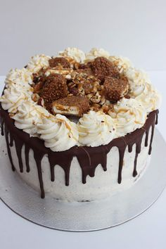 Maxi King, Torte Cake, Sweet Bakery, Ground Turkey Recipes, Drip Cakes, Rotisserie Chicken, Apple Recipes, Fondant, Food Porn