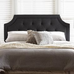 You'll love the Rico Modern and Contemporary Upholstered Panel Headboard at Wayfair.ca - Great Deals on all Furniture products with Free Shipping on most stuff, even the big stuff.