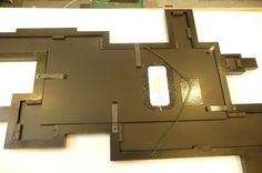 The back of the Quebus Mirror is also black.