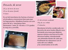 la receta de la harina de arroz: raffaelo