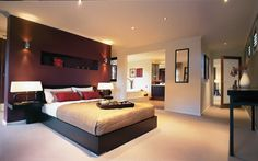 urban organic interior bedroom