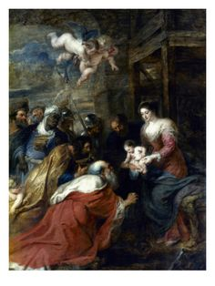 Adoration Of The Magi Giclee Print by Peter Paul Rubens at Art.com