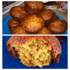 Pineapple Zucchini Muffins (gluten free and dairy free)