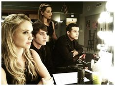 Becca Tobin, Blake Jenner, Vanessa Lengies, and Jacob Artist. Didn't think I liked the new cast at first....but now i   LOVE IT!:) haha