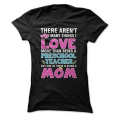 Preschool Teacher Mom T Shirts, Hoodies. Get it here ==► https://www.sunfrog.com/LifeStyle/Preschool-Teacher-Mom-Ladies.html?57074 $23.99