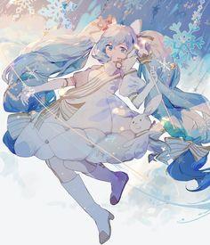 aesthetic, anime girl, and art image Vocaloid, Pretty Art, Cute Art, Character Art, Character Design, Mikuo, Anime Artwork, Anime Art Girl, Anime Style