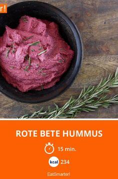 Rote Bete Hummus   Kalorien: 234 Kcal - Zeit: 15 Min.   eatsmarter.de
