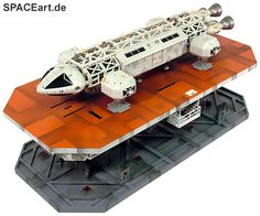 Mondbasis Alpha 1: Eagle Lift Display Stand, Modell-Bausatz ... http://spaceart.de/produkte/ga041.php