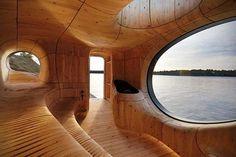 WEB LUXO - Casa & Decoração: O conceito de Sauna pelo estúdio canadense, Partisans