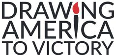 Drawing America To Victory logo