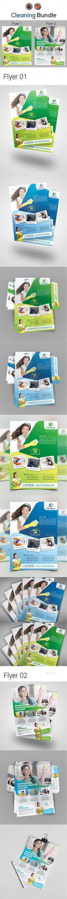 Cleaning Service Flyer Template Cleaning service, Clean design - cleaning brochure template