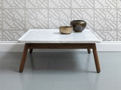 G&T by Bethan Gray Carve Coffee Table Square