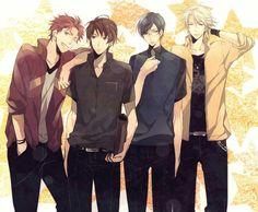 Chicos anime:)